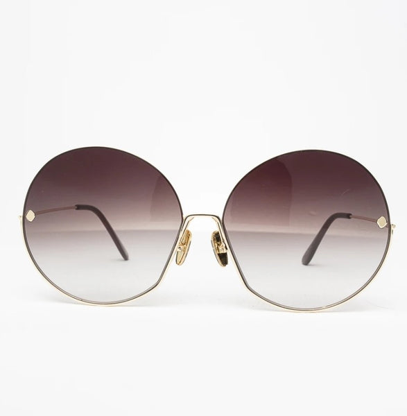 Happy To Sit On Your Face Sunglasses - Magenta