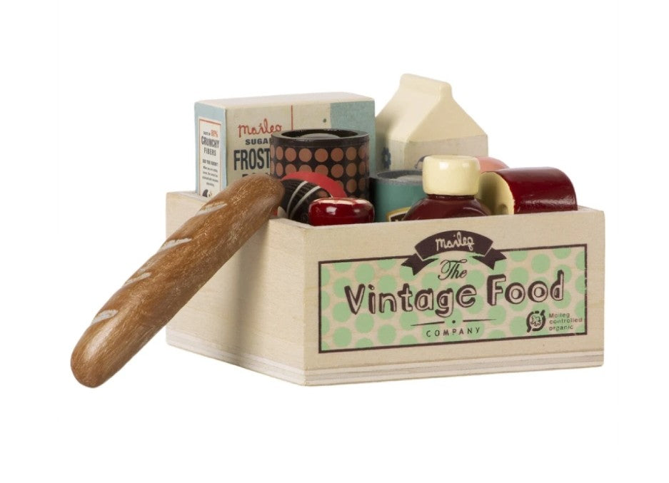 Maileg - Vintage Food Grocery Box