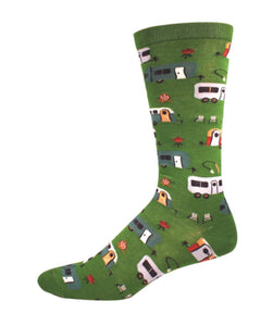 Socks - Mens - Camptown - Green