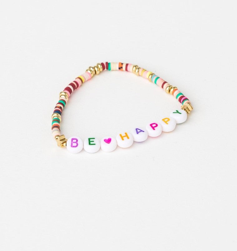 S&G Bracelet - Be Happy