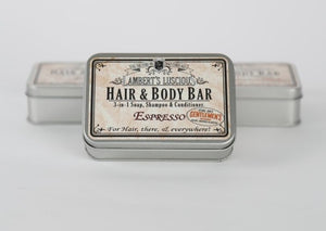 LL Hair & Body Bar - Gift Tin - Espresso