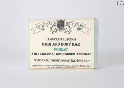 LL Hair & Body Bar - Forest