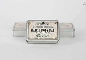 LL Hair & Body Bar - Gift Tin - Forest