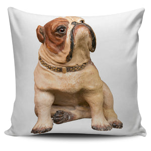 Pillow Cover / Bulldog