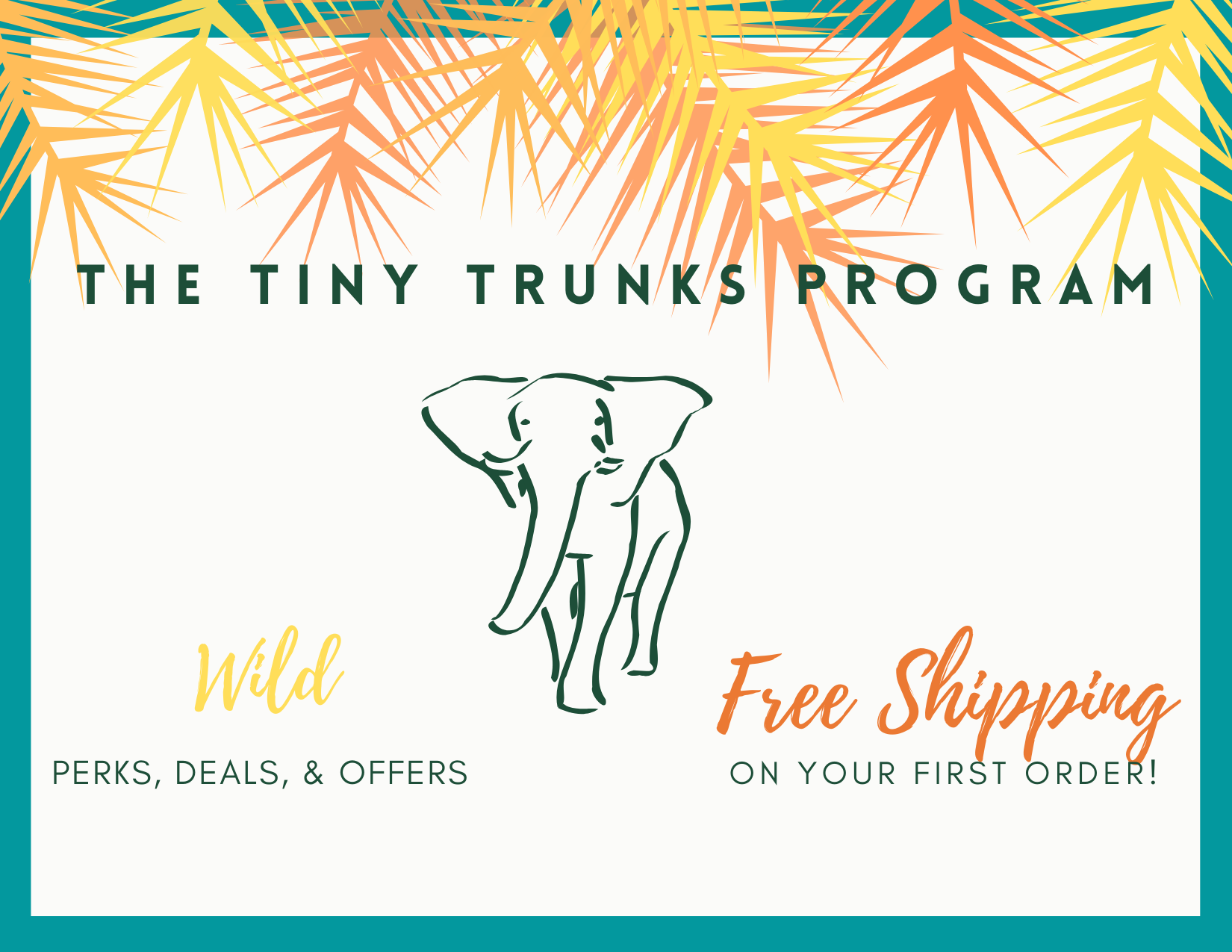 Tiny Trunks Program Free Shipping