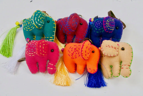 Chang Rai Elephant Key Chain