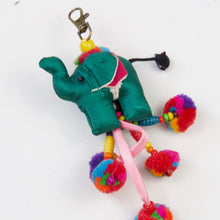 Load image into Gallery viewer, Elephant Pom-Pom Key Chain