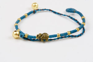 Woven Elephant Anklet
