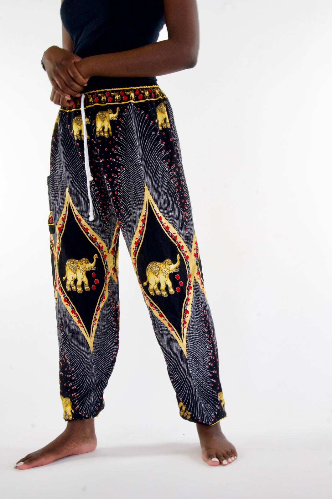 Royal Elephant Pants-Black