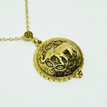 Load image into Gallery viewer, Antique Elephant Necklace
