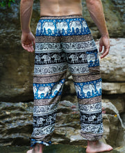 Load image into Gallery viewer, Emerald Elephant Pants-Dark Blue
