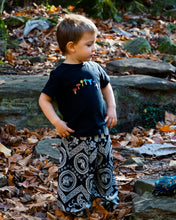 Load image into Gallery viewer, Kid's Size Tribal Pants-Black