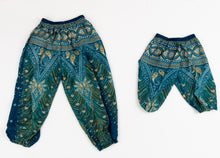 Load image into Gallery viewer, Kid's Size Peacock Pants-Teal