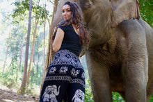Load image into Gallery viewer, Diamond Elephant Pants-Black