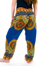 Load image into Gallery viewer, Indian Sun Elephant Pants-Blue & Yellow