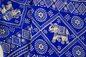 Imperial Elephant Pants-Blue