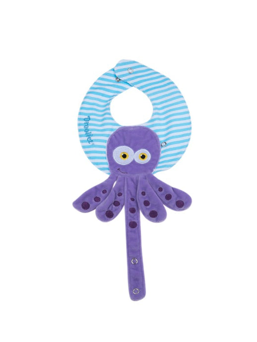 Drooliez® Squid pacifierholder / Bib