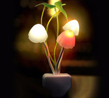 Load image into Gallery viewer, Mushroom and Leaves Cute Night Light - Night Radiance