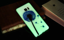 Load image into Gallery viewer, Blue Dandelion Luminous Samsung Case