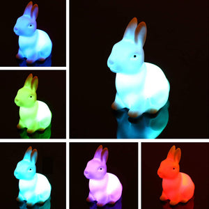 Bunny Color Changing LED Night Light - Night Radiance