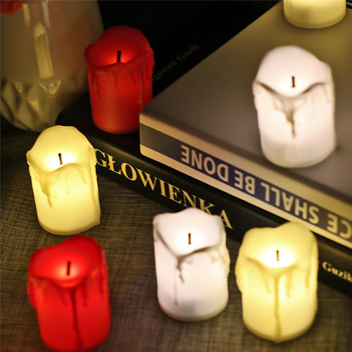 Flameless LED Candle Set - 12pc - Night Radiance