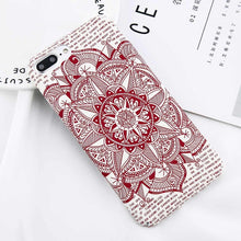 Load image into Gallery viewer, Luminous Mandala iPhone Case