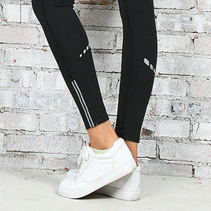 Reflective Slash Workout Leggings