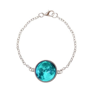 Luminous Crystal Celestial Moon Bracelet