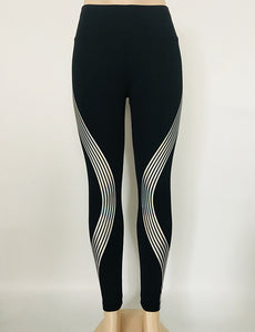 Reflective Glow in the Dark Leggings - Night Radiance