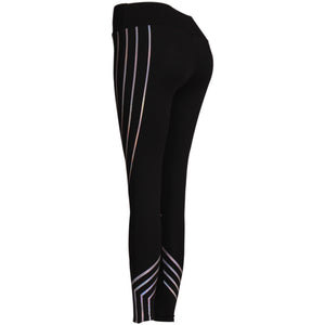 Luminous Slim High Waist Leggings - Night Radiance
