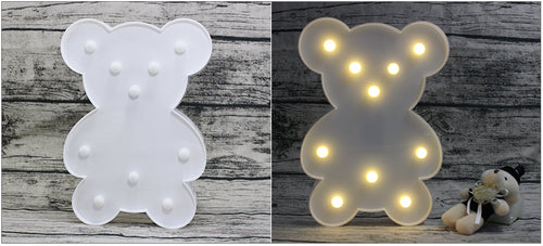 Cute Bear LED Night Light - Night Radiance