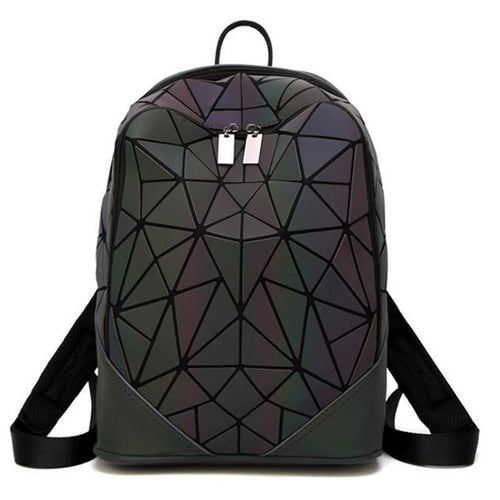 Geometric Luminous Backpack - Night Radiance