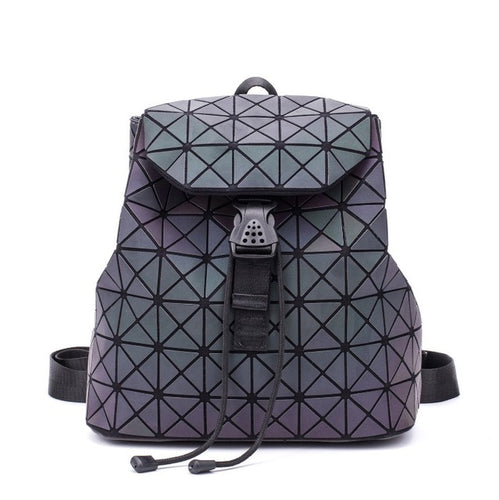 Luminous Geometric School Bag