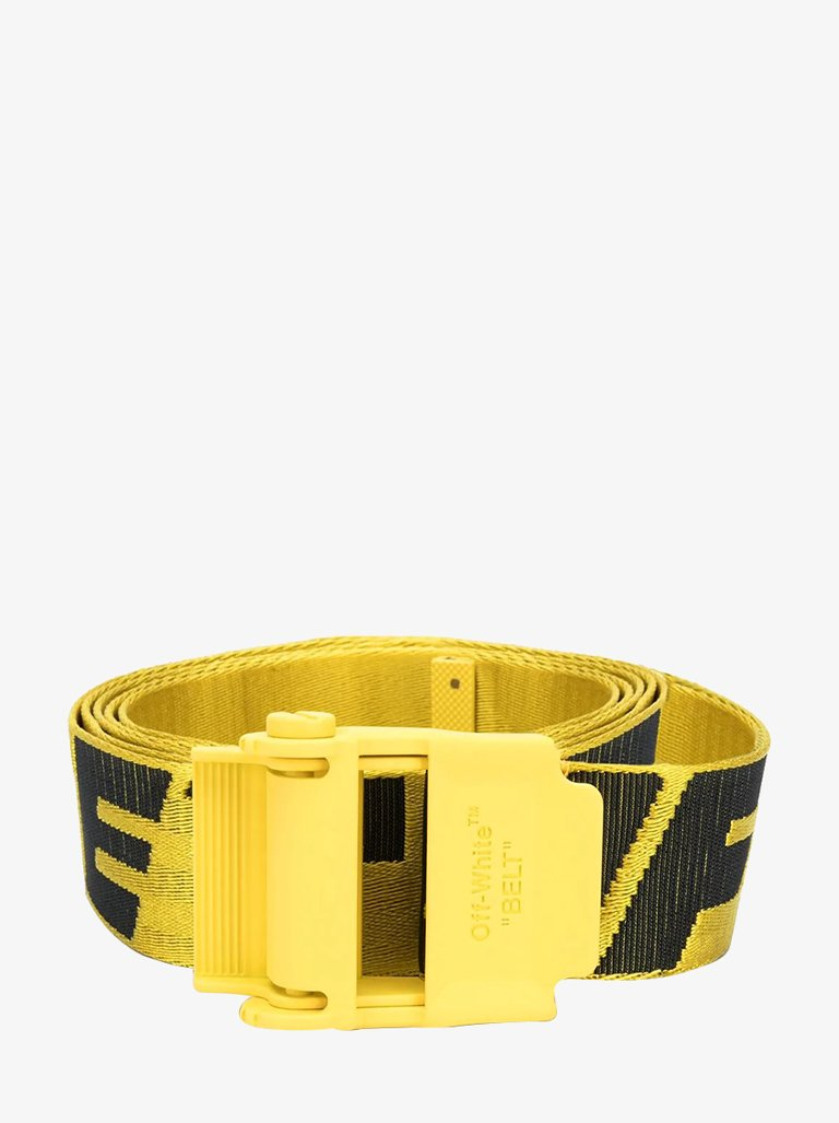 2.0 INDUSTRIAL BELT MEN-ACCESSORIES BELT OFF-WHITE SMETS