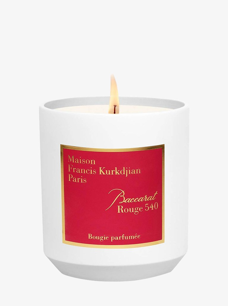 2022226 SCENTED CANDLE BACCARAT ROUGE 540 LIFESTYLE-CANDLES HOME FRAGRANCES MAISON FRANCIS KURKDJIAN SMETS