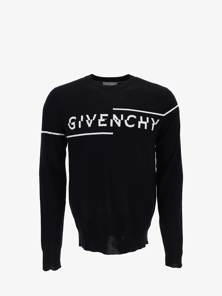 7GG GIVENCHY LOGO CREWNECK MEN-CLOTHING CREWNECK GIVENCHY SMETS