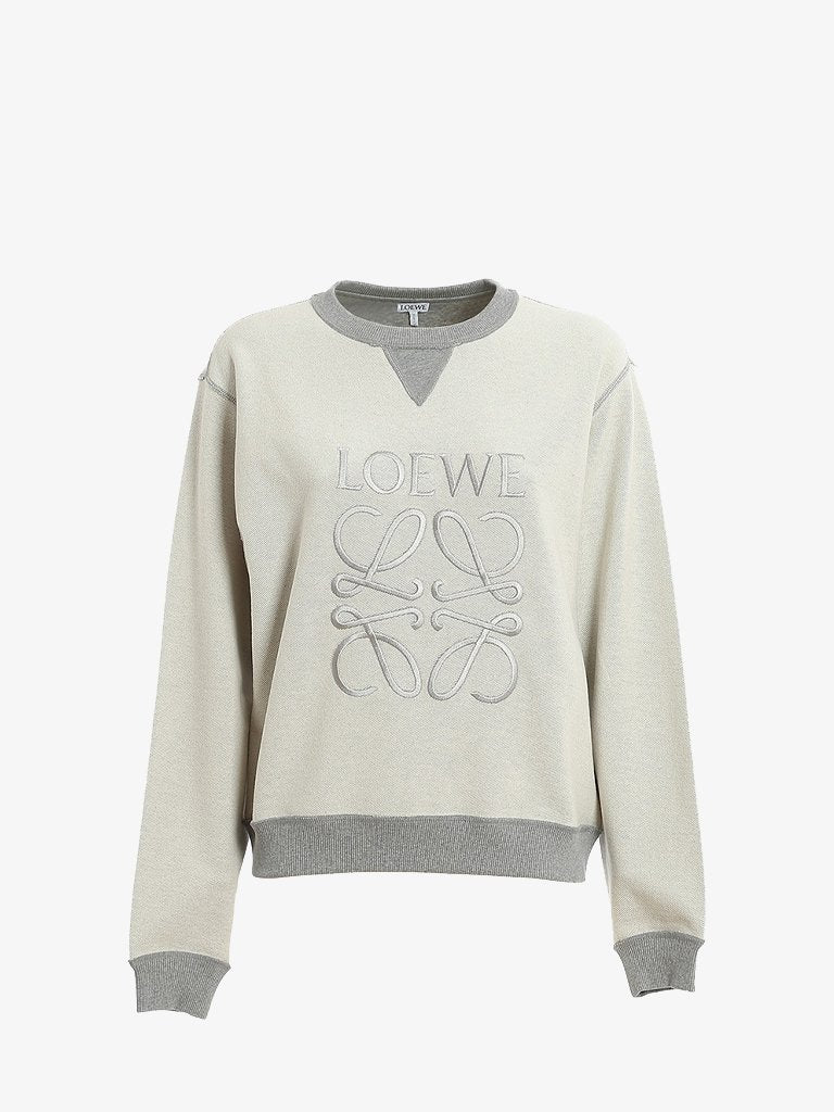 ANAGRAM CREWNECK SWEATER WOMEN-CLOTHING SWEATSHIRT LOEWE SMETS