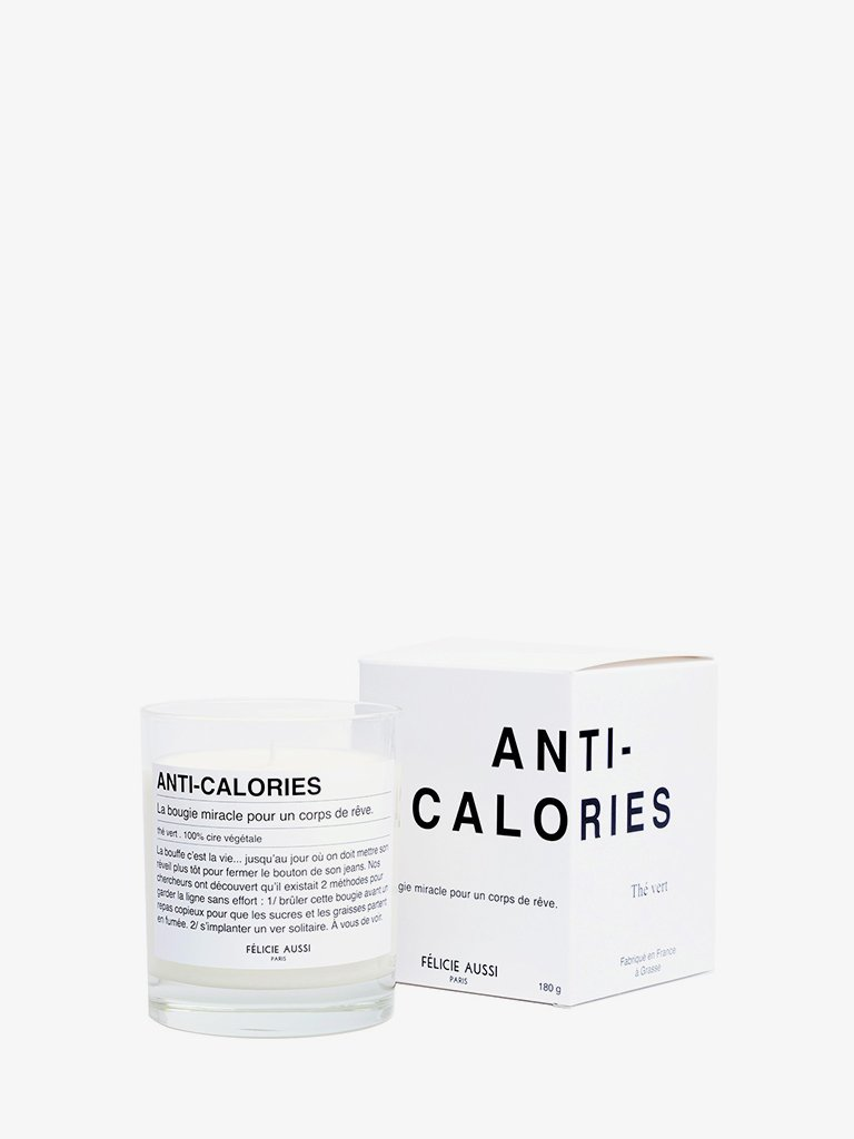 ANTI-CALORIES FRENCH CANDLE * LIFESTYLE CANDLES HOME FRAGRANCES FÉLICIE AUSSI SMETS