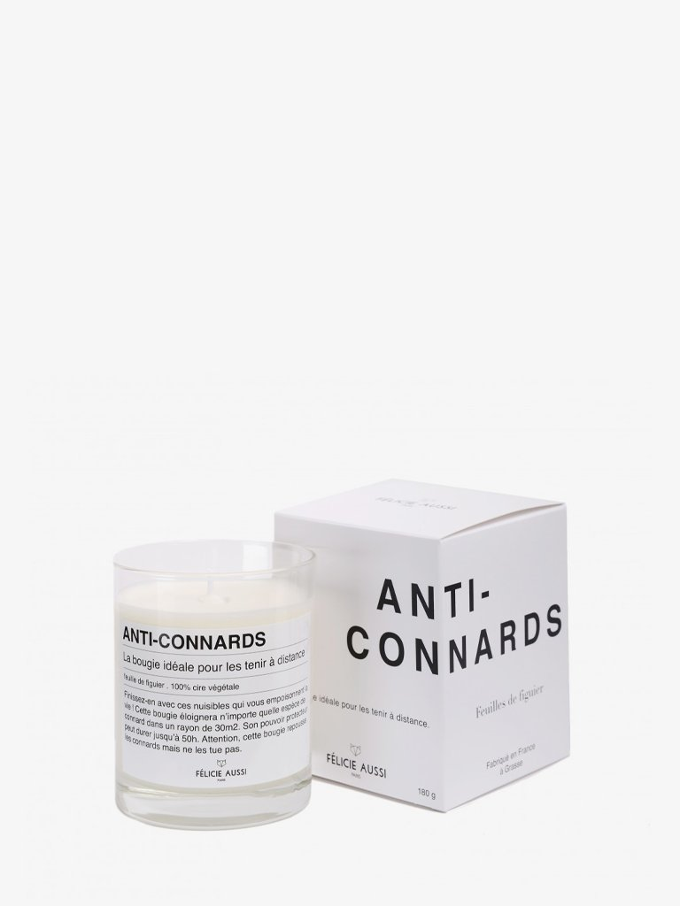 ANTI-CONNARDS CANDLE * LIFESTYLE CANDLES HOME FRAGRANCES FÉLICIE AUSSI SMETS