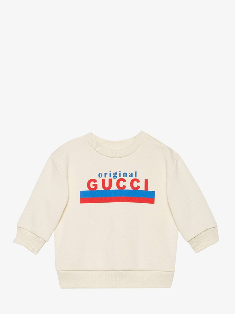 BABY BOYS' ORIGINAL GUCCI SWEATSHIRT BABIES-CLOTHING SWEATSHIRT GUCCI SMETS