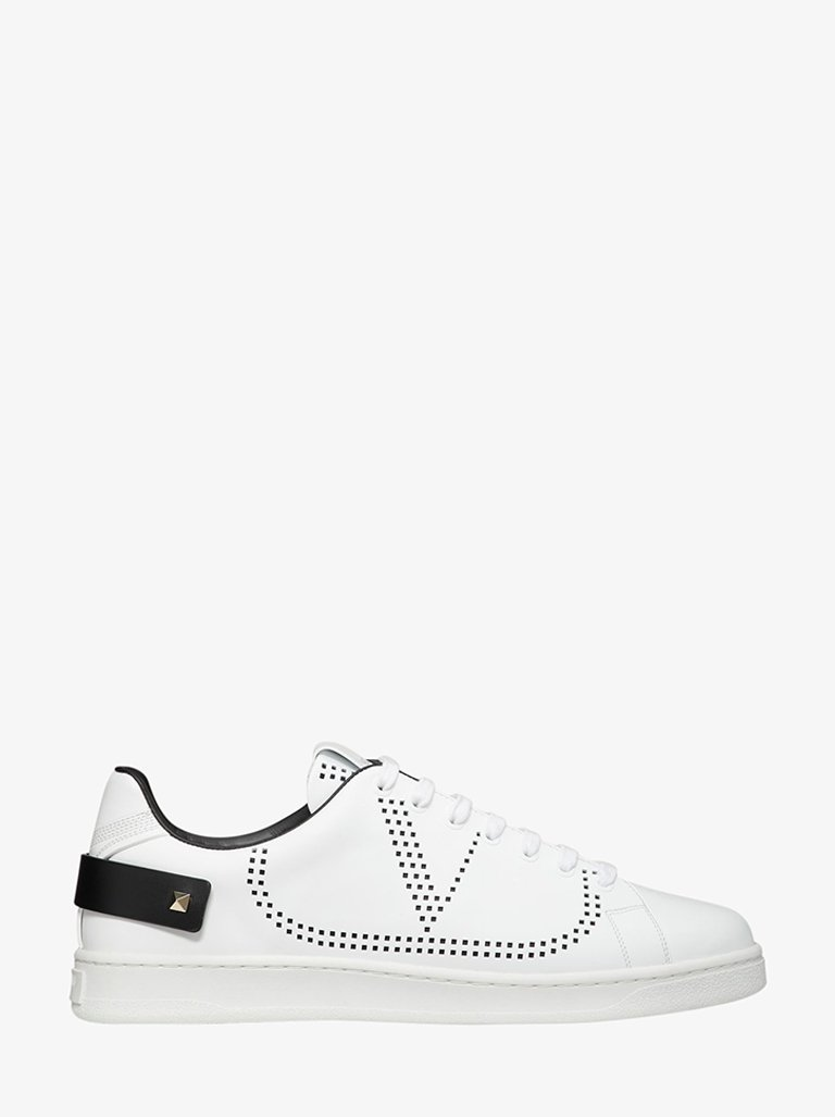 BACKNET PERFORATED SNEAKERS MEN-SHOES SNEAKERS VALENTINO SMETS