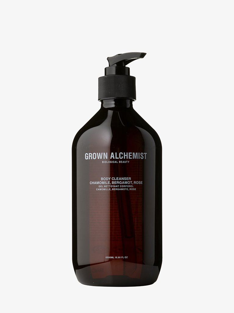 BODY CLEANSER: CHAMOMILE, BERGAMOT & ROSEWOOD BEAUTY-BODY CARE CLEANSER GROWN ALCHEMIST SMETS