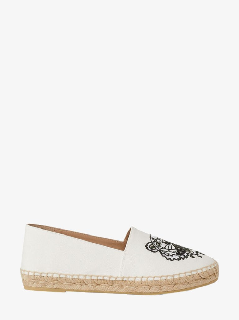 CANVAS TIGER HEAD EMBROIDERY ESPADRILLES WOMEN-SHOES ESPADRILLES KENZO SMETS