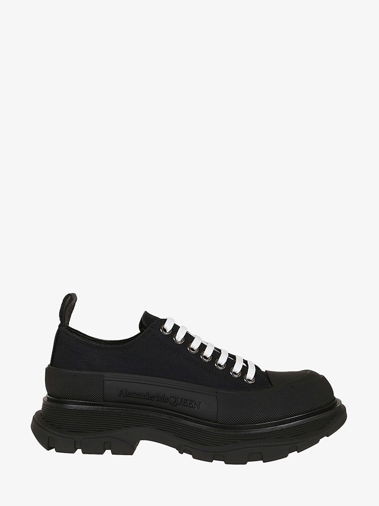 CANVAS TREAD SLICK BAND SNEAKERS MEN-SHOES SNEAKERS ALEXANDER MCQUEEN SMETS