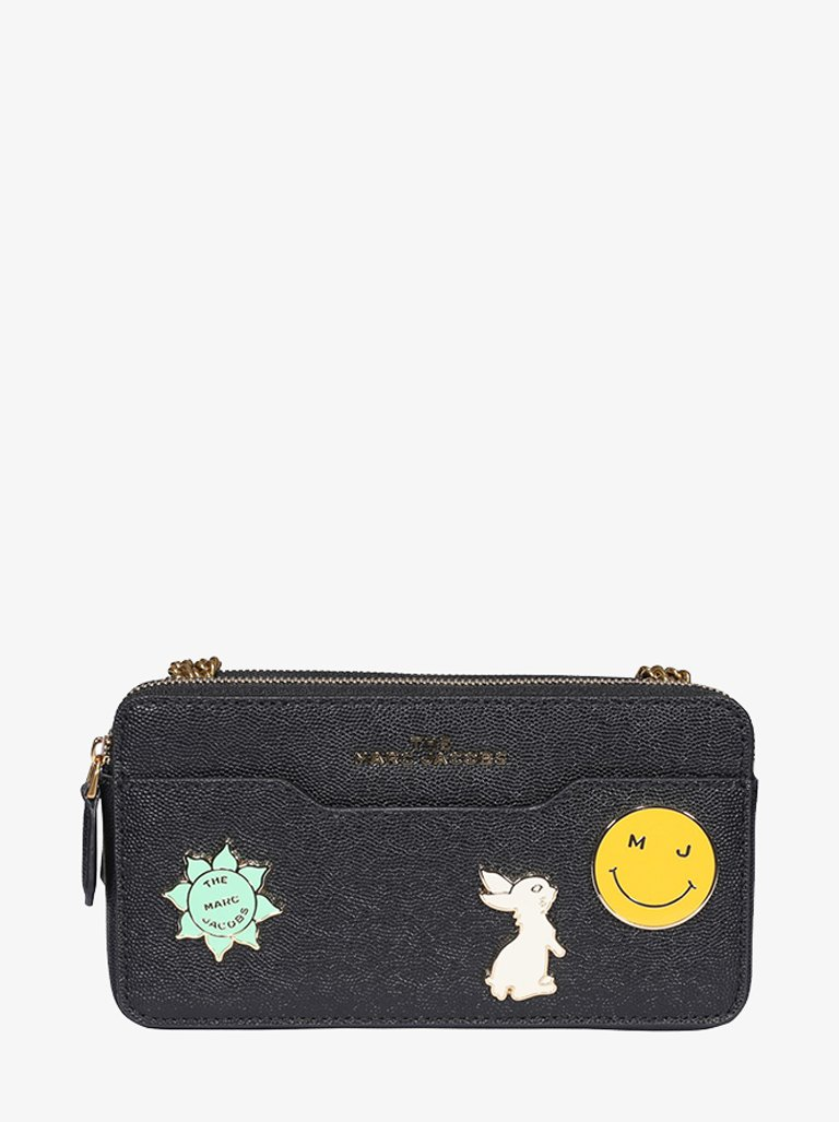 CHARM CHAIN CONTINENTAL WALLET WOMEN-ACCESSORIES WALLET MARC JACOBS SMETS
