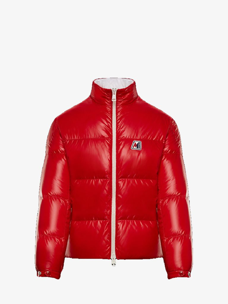 CHARTREUSE DOWN JACKET MEN-CLOTHING DOWN JACKET MONCLER SMETS