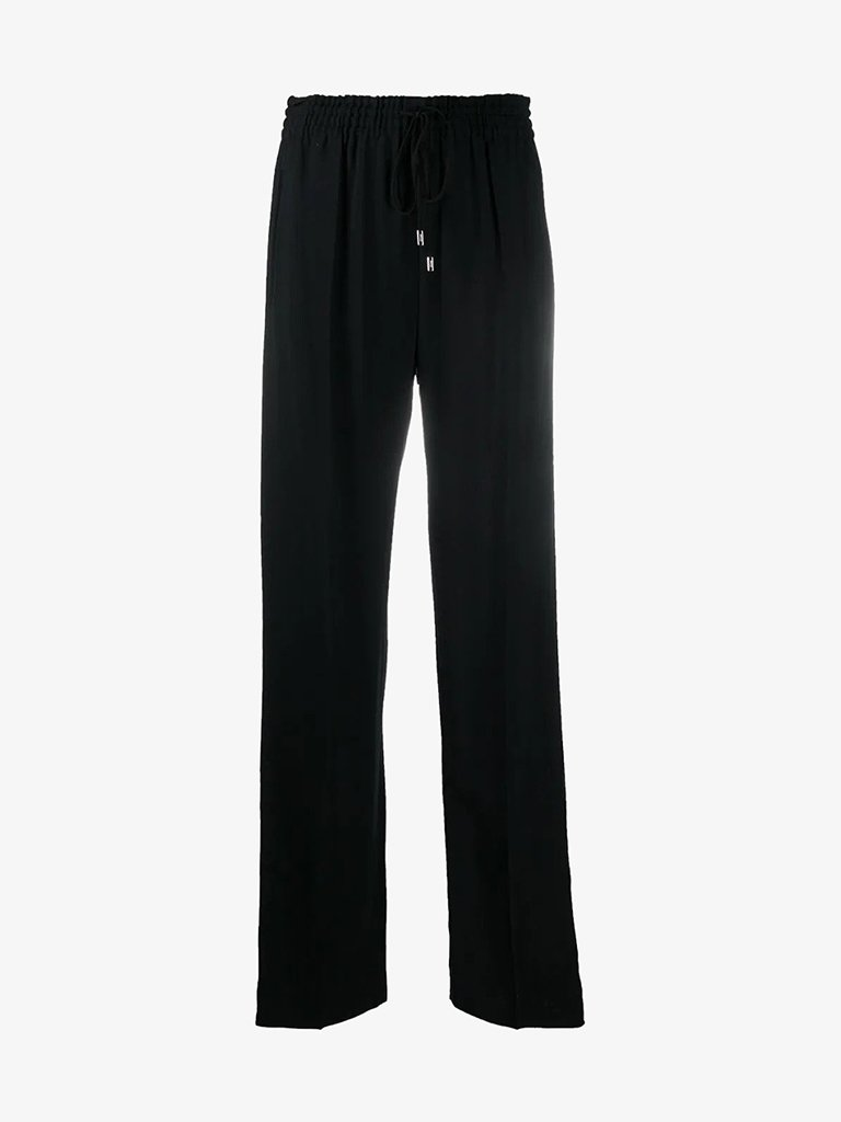 CHC20APA80237001 LIGHT CADY PANTS WOMEN-CLOTHING PANTS CHLOÉ FR 34 BLACK SMETS