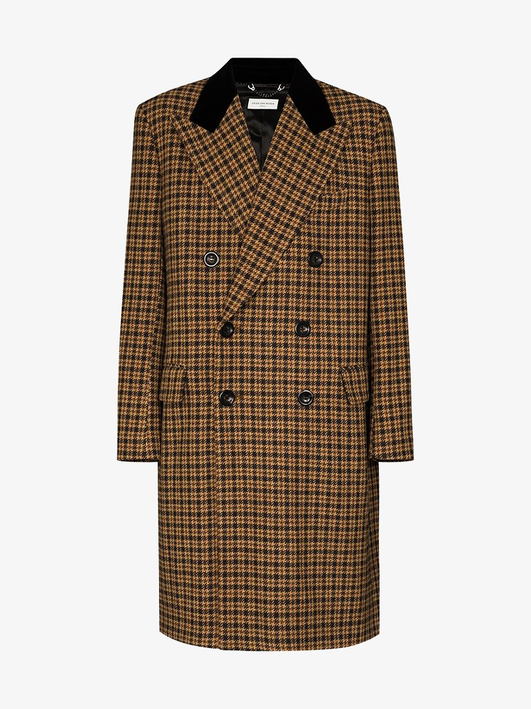 CHECK RESTLER JACKET MEN-CLOTHING JACKET DRIES VAN NOTEN SMETS