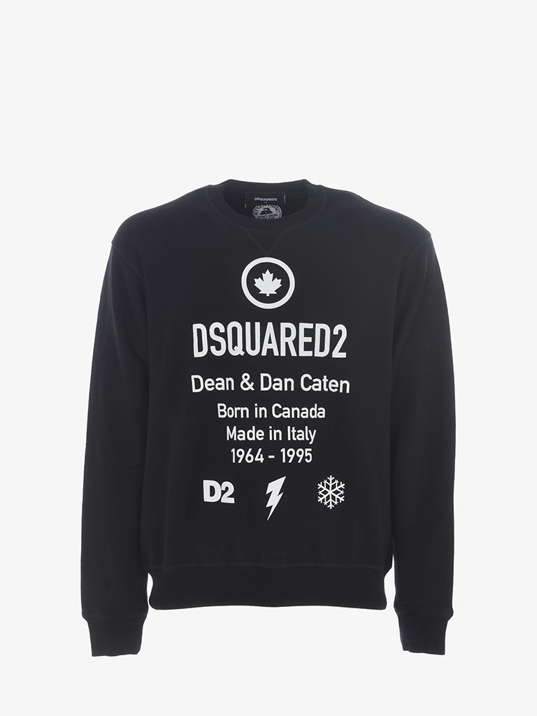 COOL FIT SWEATSHIRT MEN-CLOTHING SWEATSHIRT DSQUARED2 SMETS
