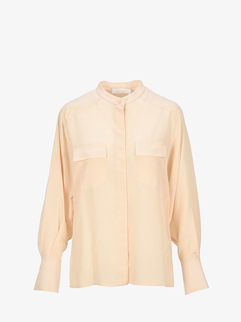 CREPE DE CHINE SHIRT * WOMEN-CLOTHING SHIRT CHLOÉ SMETS
